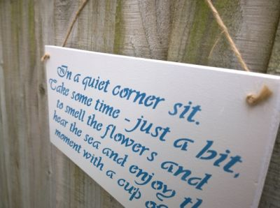 secret garden signs, secret garden garden signs - handmade gifts for you and your home, Design ideen